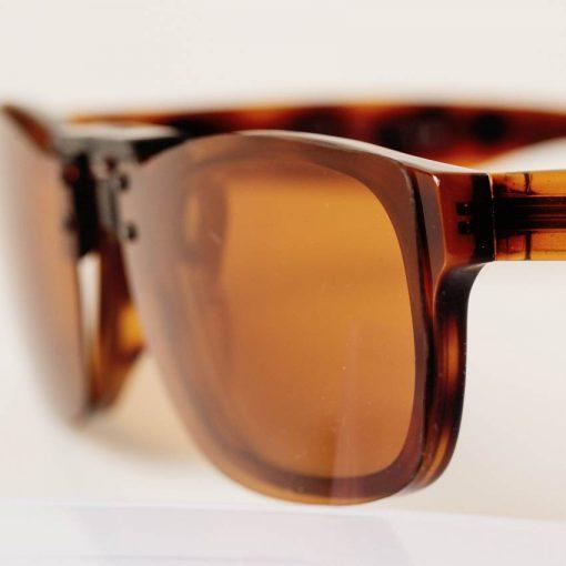 Amber Clipon Sunglasses