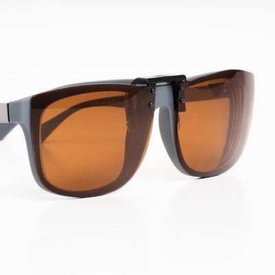 Amber Clipon Sunglasses